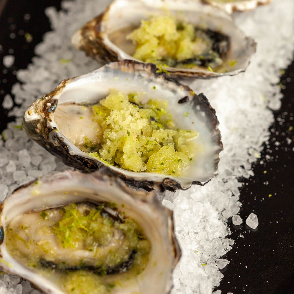 Oysters with Cucumber and Lychee Granita.jpg