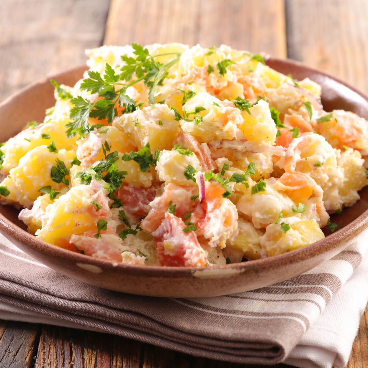 Pink eye potato salad with salmon.jpg