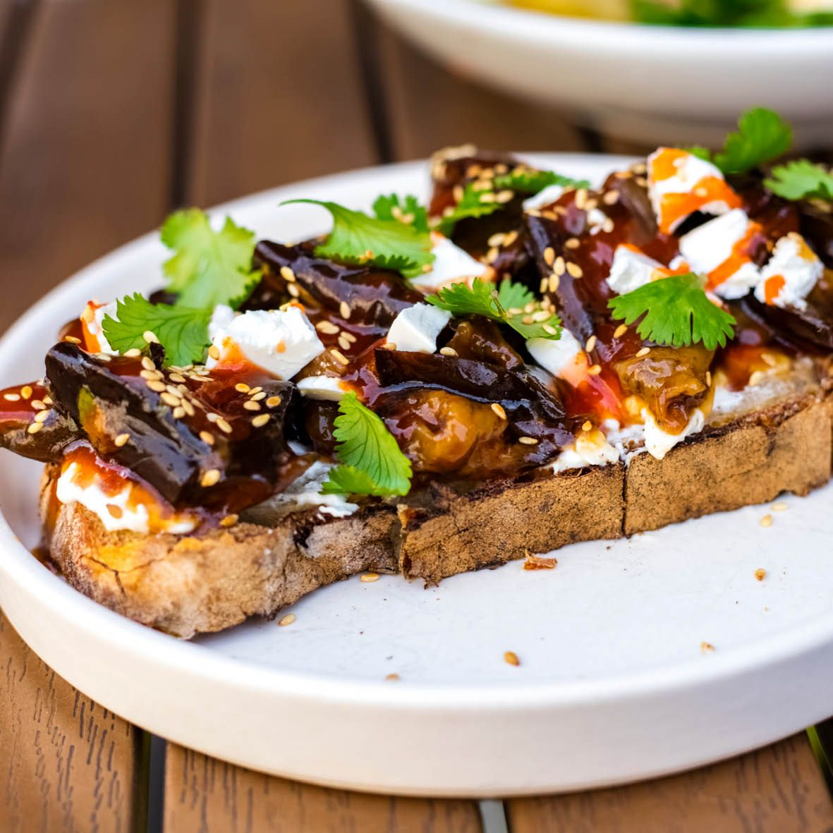 Eggplant_bruschetta_with_sweet_sauce_and_mozzarella.jpg