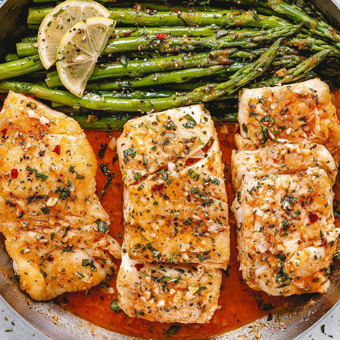 Pink Ling with Garlic Butter and Lemony Asparagus.jpg