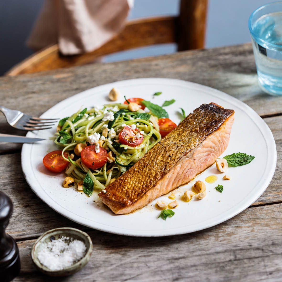 Huon Salmon with Zucchini noodles - Hill Street (002).jpg